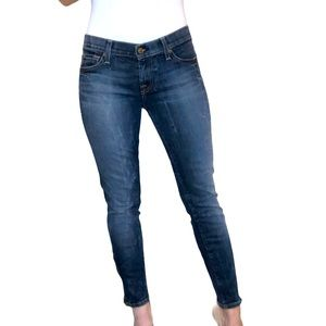 7 For All Mankind The Cropped Skinny with Zippers